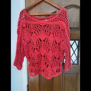 Beautiful crocheted sweater